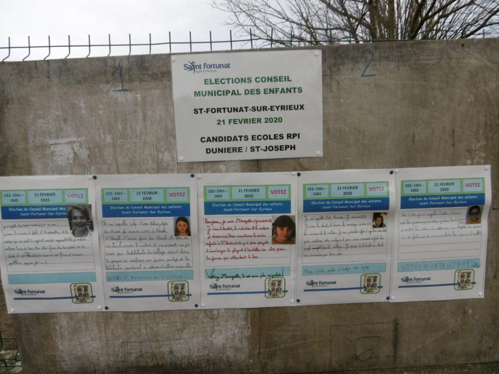 La campagne pour le conseil municipal des enfants (CME) est lancée!