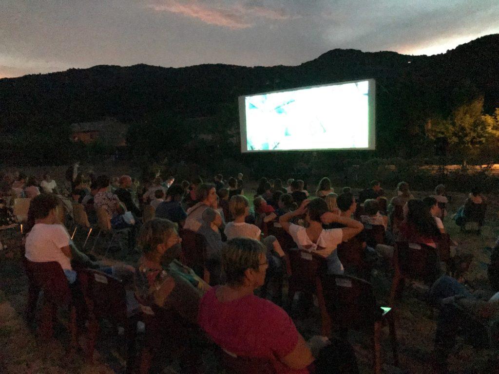 Le cinéma de plein-air à nouveau plébiscité…